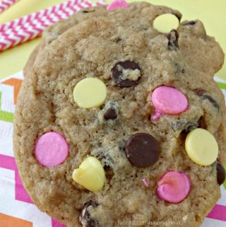 Spring Chocolate Chip Cookies
