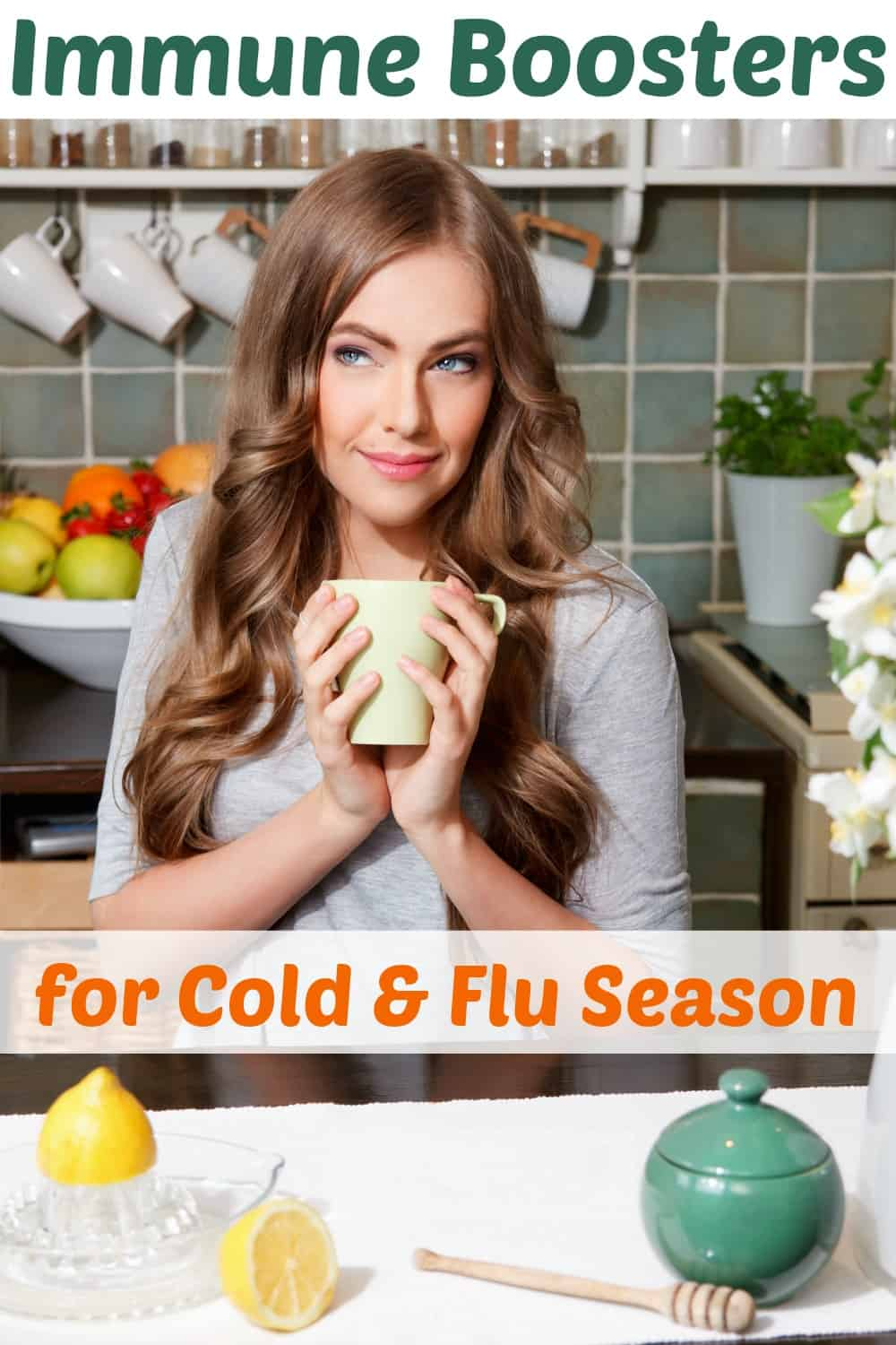 Immune Boosters for Cold & Flu Season