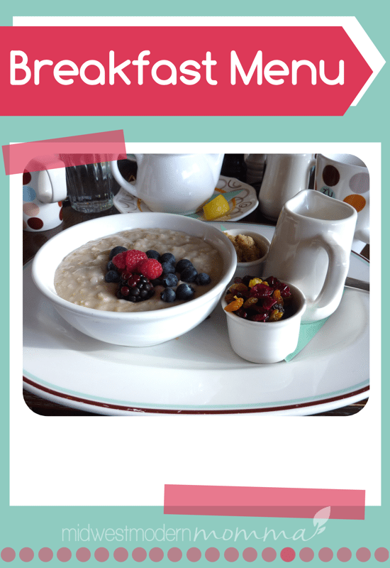MMM-BreakfastMenu