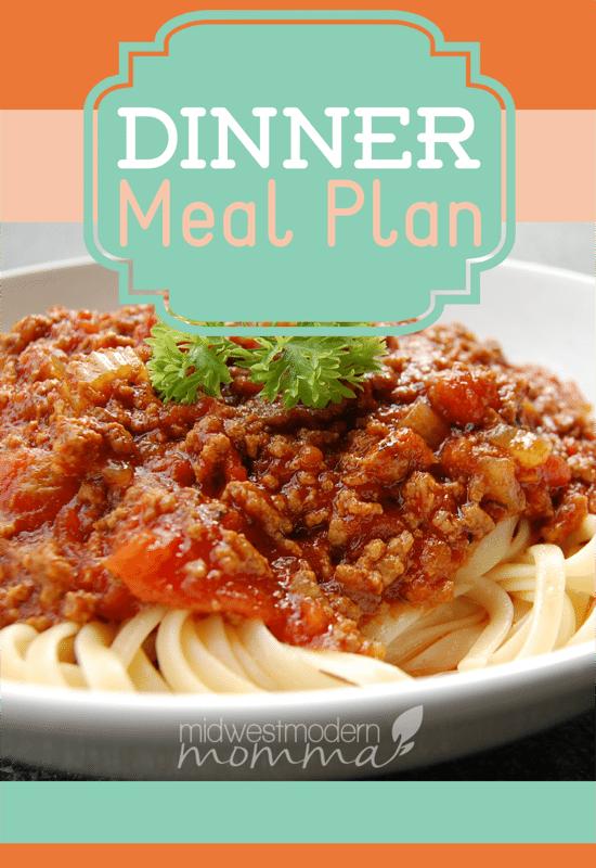 MMM-DinnerMealPlan