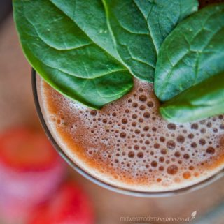 Strawberry Green Smoothie Recipe