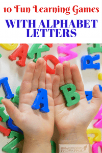 10 Fun Learning Games With Alphabet Letters