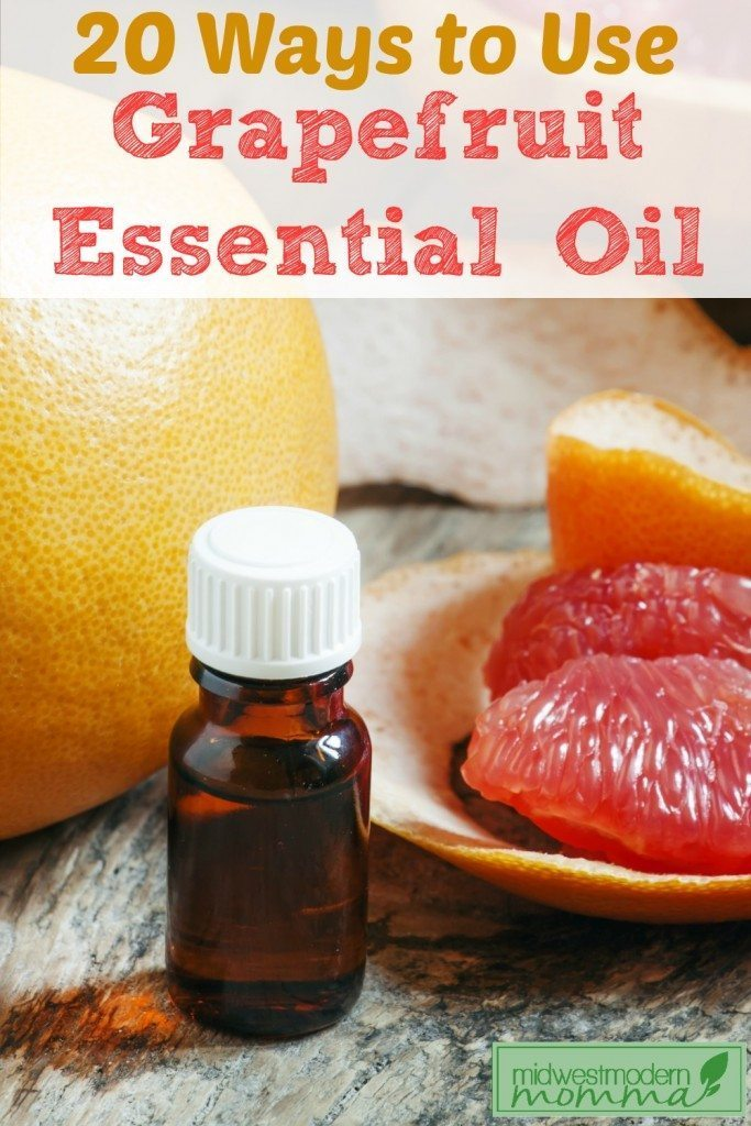 20 Ways to Use Grapefruit Essential Oil