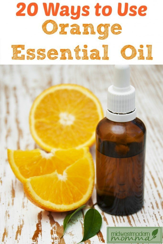 20 Ways to Use Orange Essential Oil