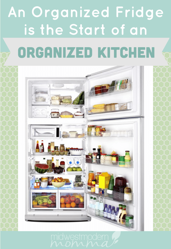 An Organized Fridge Is The Start Of An Organized Kitchen