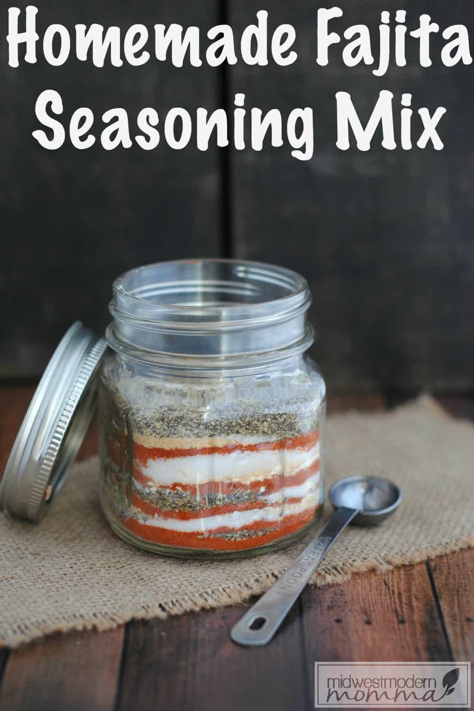 Homemade Fajita Seasoning Mix