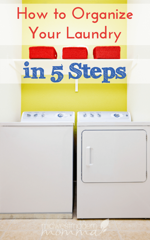 Laundry is a dirty word to many moms. Organizing your laundry room makes one of the most frustrating household chores less stressful!