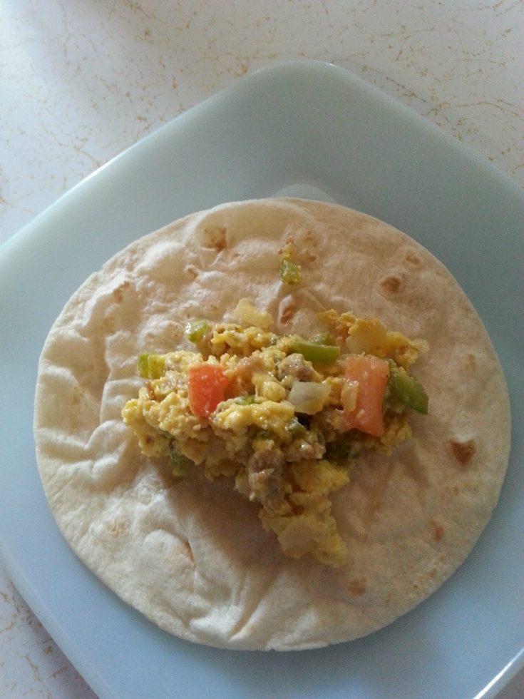 Freezer Meal Breakfast Burritos