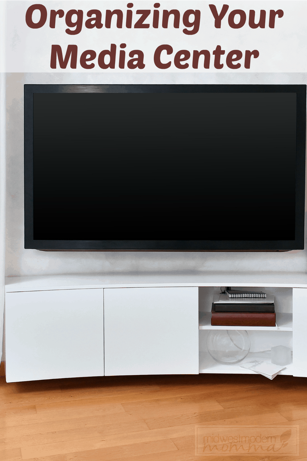 These tips for organizing your media center will help you to have a wonderful place in your home that is perfect for relaxing evenings in with the kids, or simply entertaining.