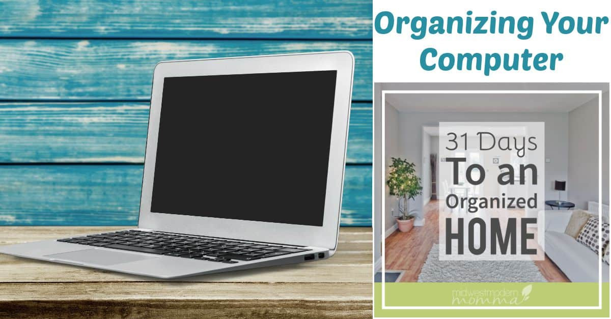 Organizing Your Computer