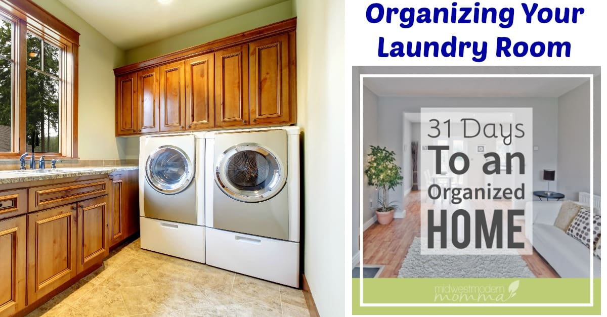 Organizing Your Laundry Room in 5 Easy Steps