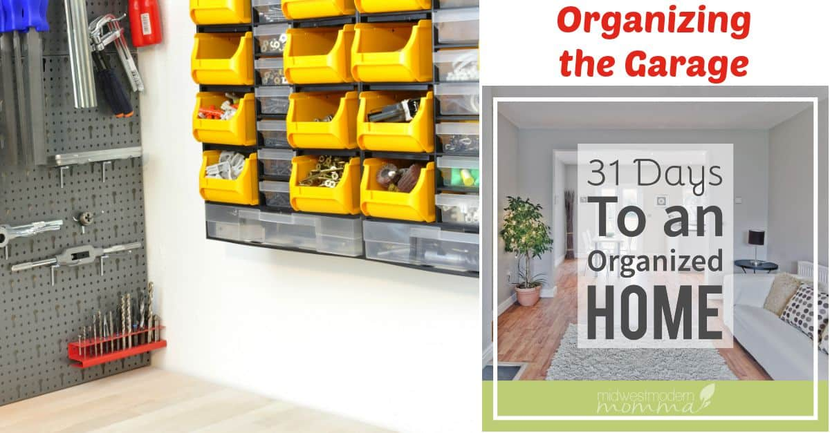 Organizing Tips for the Garage