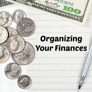 Organizing Your Finances