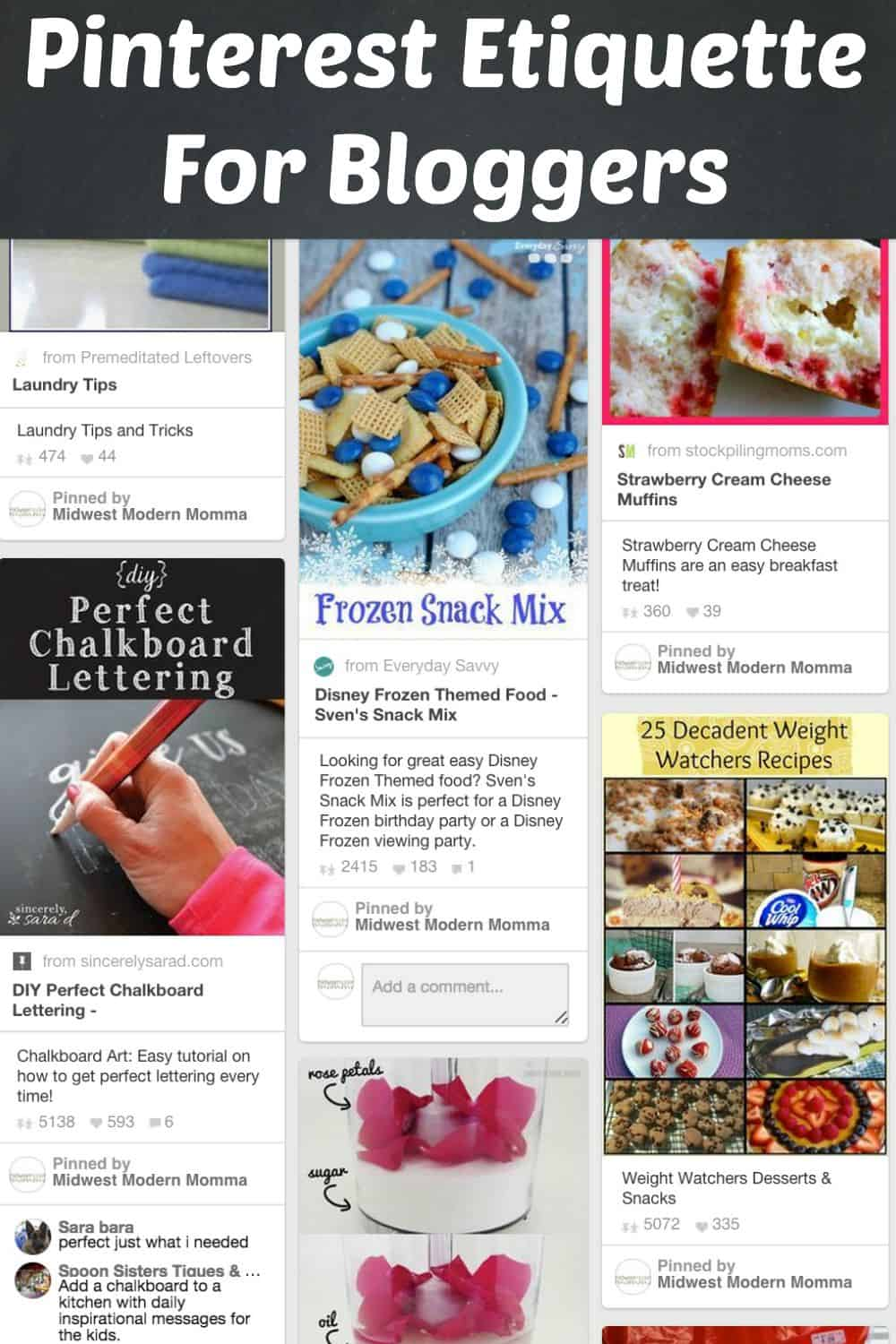 Pinterest Etiquette for Bloggers: Do's & Don'ts for Using Group Boards