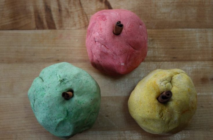 Apple Pie Spice Play Dough