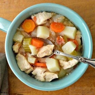 Homemade Slow Cooker Chicken Stew