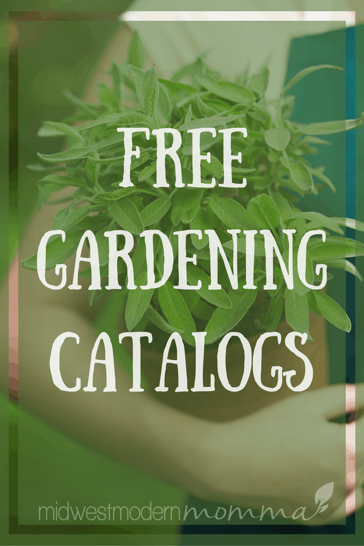 Grab these Free Gardening Catalogs today