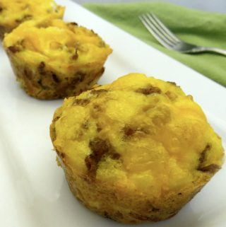 Breakfast Muffins | An easy make ahead breakfast recipe the kids are sure to love!