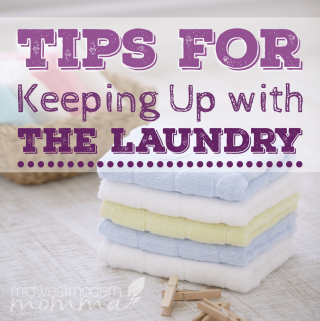 Mount Laundry getting the best of you? Try these tips for keeping up with the laundry today!
