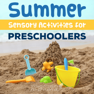 This summer, we have some amazing fun activities for preschoolers that will work all of their senses!