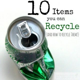 10 Things You Can Recycle