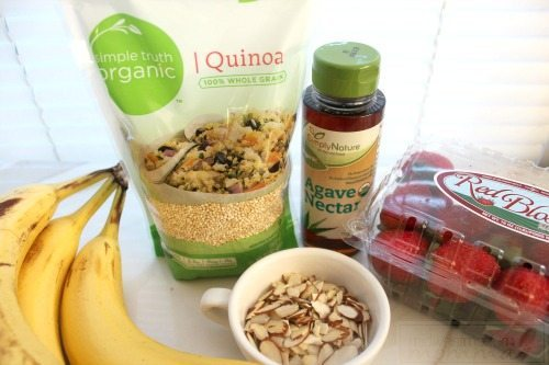 Breakfast Quinoa is a favorite high-protein and low carb breakfast! Check out our Easy Strawberry Banana Breakfast Quinoa recipe for a great new vegan, gluten-free, dairy-free, and delicious breakfast addition to your menu plan!