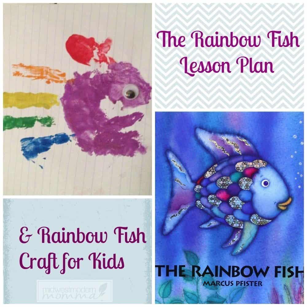 Rainbow Fish Homeschool Lesson Plan and Craft