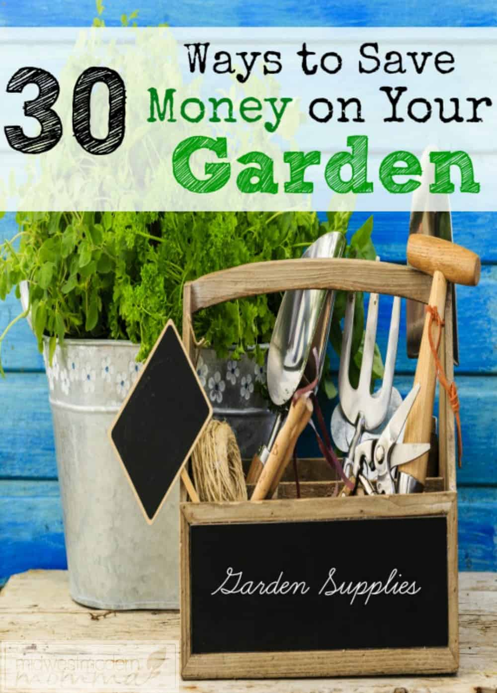 Ways To Save Money On Gardening like this list of 30 Amazing Tips are just the beginning of your savings with a budget-friendly backyard vegetable garden!