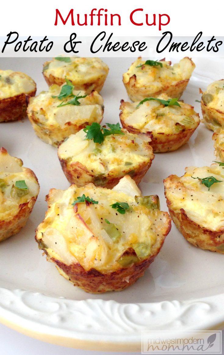 Easy Paleo Omelette Muffins