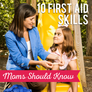 10 First Aid Skills Moms Should Know