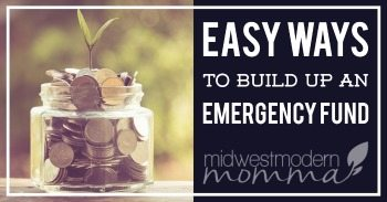 You never know when you need emergency cash, and these Easy Ways To Build Up An Emergency Fund are perfect for keeping you from getting into trouble financially when this happens.