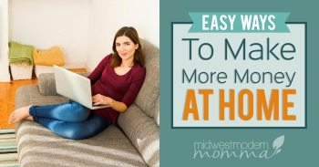 Here are some great easy ways to make money at home that anyone can manage. Whether you have money to invest into an at home business, or you have to start with no funds in the beginning, this is a great list to begin with.