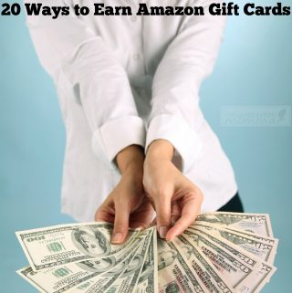 20 Ways to Earn Amazon Gift Cards for free!
