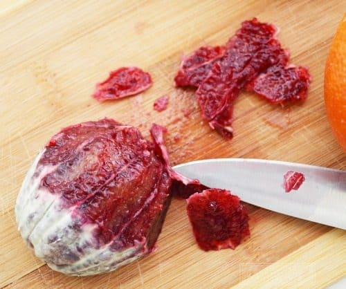 Cleaning Blood Oranges