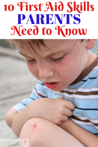 10 First Aid Skills Every Parent Should Know - Accidents happen no matter how hard we try to keep our kids safe. It's important to have the skills necessary to deal with injuries when they occur.