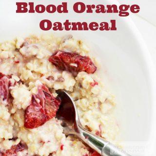 Orange Oatmeal