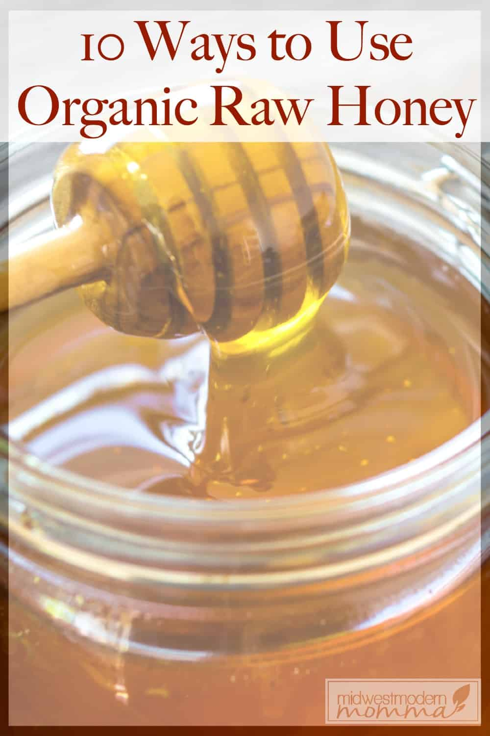 Organic Raw Honey is a great item for your pantry! I always make sure I have a jar or two on hand! Check out these Top 10 Ways To Use Organic Raw Honey In Recipes for some tips on how to use honey in the kitchen!