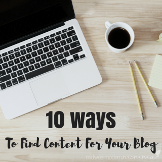 Easy Ways to Find Content for Your Blog