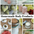 Best Homemade Sugar Scrub Recipe Ideas & Body Products