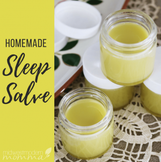 Nighttime Sleep Aid Homemade Sleep Salve