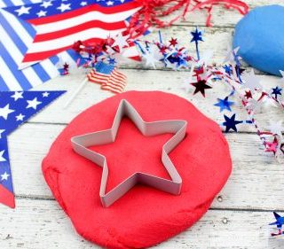 Patriotic No Cook Play Dough Recipe