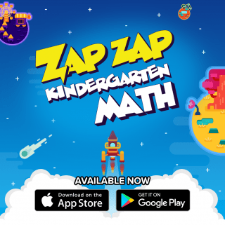 Zap Zap Math for Kindergarten