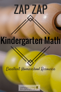 Need math for kindergarten? Look no further than Zap Zap Kindergarten Math App for your children! Check out our thoughts on how this app works great!