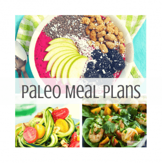 Paleo Meal Plan Monday – Week of 1/1