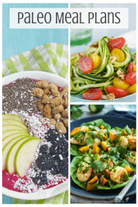 Paleo Meal Plan Monday