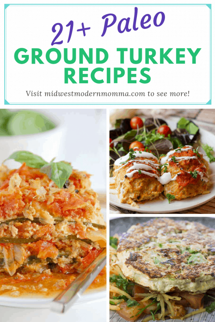 Ground turkey lasagna, cabbage rolls, and other paleo ground turkey recipes