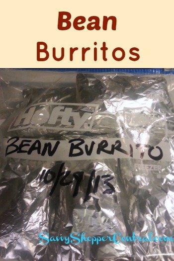 Bean Burritos