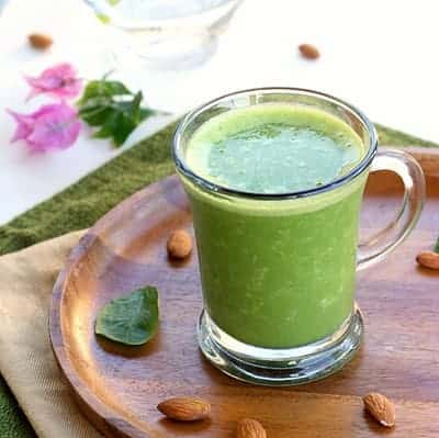 Green Almond Smoothie