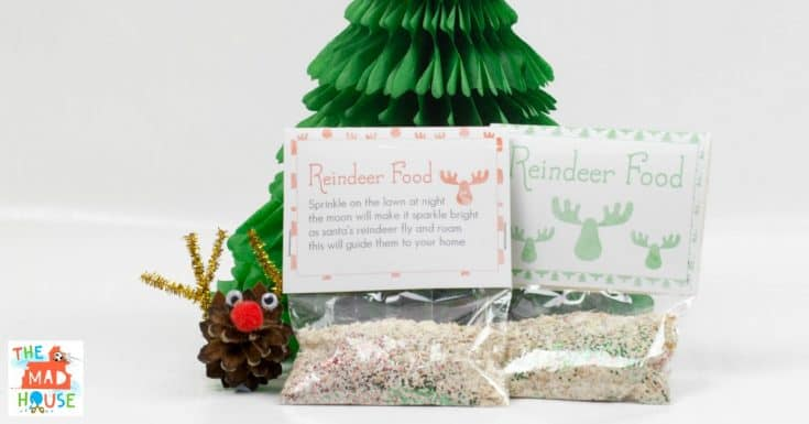 DIY Magic Reindeer Food 13