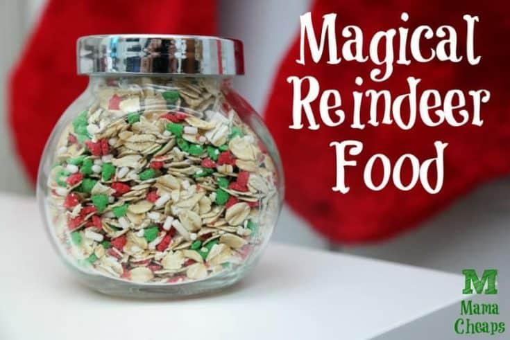 Magical Reindeer Food Recipe + Free Printable Poem Tag